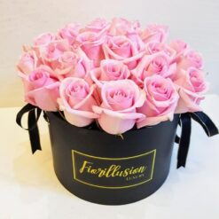 Flower Box rose rosa