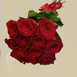 Bouquet 12 rose rosse
