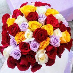 Rio bouquet rose multicolore