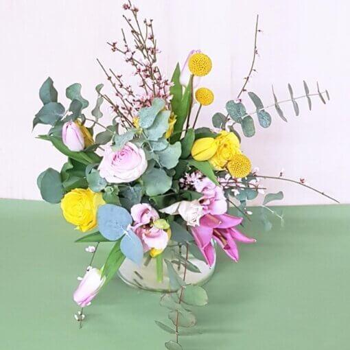 Romantico e colorato bouquet