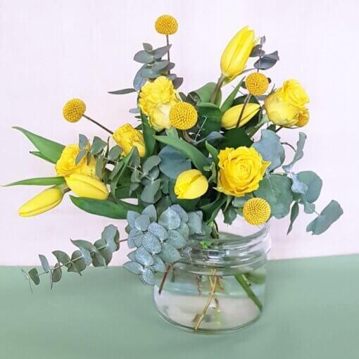 Festa della Donna Bouquet fi diori gialli