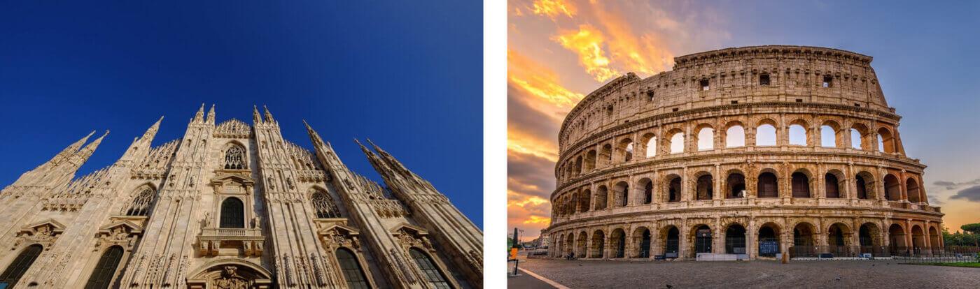 Consegniamo in giornata  Fiori a Milano e Roma città