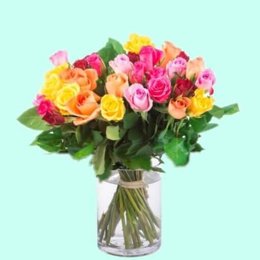 Treviso Bouquet di Rose stelo corto